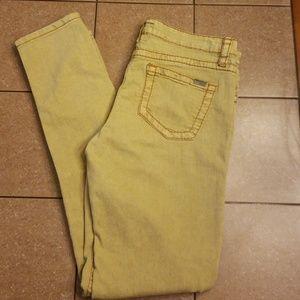 Dear John joyrich Comfort skinny green jeans